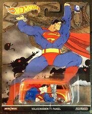 Hot Wheels Pop Culture DC Comics Superman VW Volkswagen T1 Panel Bus