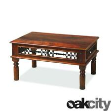 Maharajah Indian Rosewood Coffee Table 60x90 - Solid Wood Stained Waxed Finish