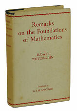 Remarks on Foundations of Mathematics LUDWIG WITTGENSTEIN  First US Edition 1956