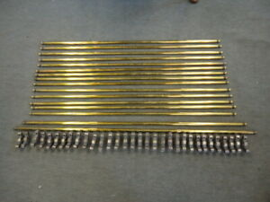 Set Of 16 Quality Stair Rods