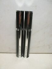 GIVENCHY NOIR COUTURE VOLUME MASCARA #2 BLUE TAFFETA .28 OZ (LOT OF 2)