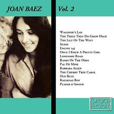 CD JOAN BAEZ VOL2  WAGONER'S LAD PLAIR D'AMOUR LONESOME ROAD RAILROAD BOY SILKIE