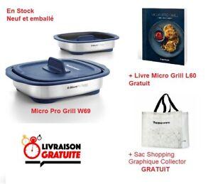 Micro Pro Grill Tupperware neuf + Livre de recettes + Sac Collector