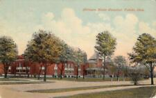 Cottages, State Hospital INSANE ASYLUM Toledo, Ohio ca 1910s Vintage Postcard