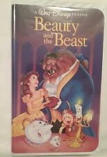 WALT DISNEY'S BEAUTY AND THE BEAST VHS 1992 BLACK DIAMOND CLASSIC HOME VIDEO