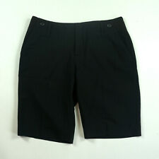 Banana Republic Martin Fit Size 10P Black Career Dress Shorts
