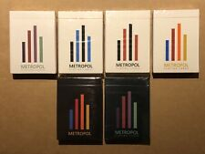 Metropol LUX and NOX Playing Cards Collection New Rare