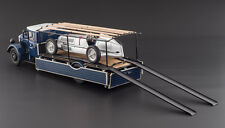 1934-1938 MERCEDES RACE CAR TRANSPORTER LKW LO 2750 WITH W25 T CAR 1/18 CMC 164
