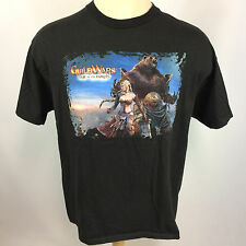 Vintage 90's Computer pc Mac Software Game T Shirt NCsoft ArenaNet Guild of Wars