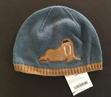 NWT Gymboree Arctic Adventure 2T-5T Blue Walrus Sweater Hat 657bd860b9bb