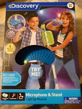 Discovery Kids Microphone & Stand - NEW