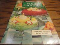 """Vintage 1969 """"Salads Cookbook""""  Over 500 Recipes Softcover Book Illustrated   V6"""