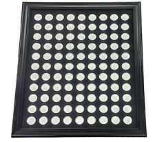 Chip Insert 99 Casino Chips Display Board with Frame 20x24 HOLDS 99 CHIPS *
