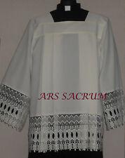 PRIEST SURPLICE, CHORROCK, VESTMENT, SIZE 164 CM  CREAM