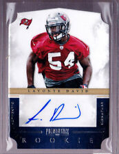 2012 Prominence LaVonte David Auto Rc Serial # to 199