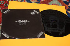 """THE ALMIGHTY ADDICTION LP 12"""" ETCHED EX CONDITION TOP METAL HARD ROCK"""