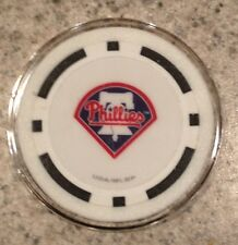 Philadelphia Phillies Texas Holdem Poker Chip Card Guard Protector NEW BLACK