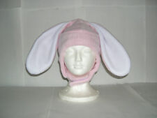 Fleece Bunny  Hat Pick your own solid colors NEW Adult/Childs