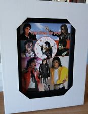 Michael Jackson The King Of Pop Wall Clock