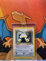 Snorlax Holo Jungle VG-EX 11/64 Pokemon Card