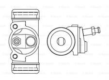 Radbremszylinder für Bremsanlage Hinterachse BOSCH F 026 002 385