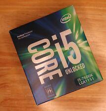 Intel Core i5-7600K 3.8 GHz Quad-Core 7th Gen s.1151 OC Unlocked CPU Processor