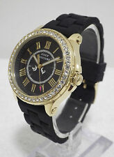 Designer Juicy Couture Ladies Pedigree Gold Plated Crystals Watch RRP 125 NEW