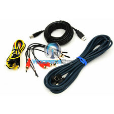 Alpine Wires Plugs And Microphone For Pxa-H800 Imprint Audio Processor Dsp