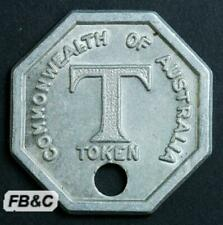 Vintage Commonwealth of Australia T Token - Tea From the Tealady