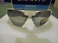 Foster Grant sunglasses White/Red Max Block Active model 100% UVA & UVB UV400