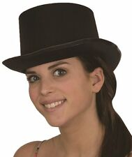 Jacobson Hat Company Men''s Adult Permasilk Top Hat 5 Inch Tall, Black, Adult