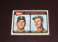 1965 Topps Baseball Nelson Briles/Ed Spiezio #431 Rc St Louis Cardinals Ex+/Exmt
