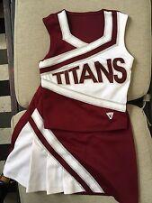 VARSITY Cheerleading Uniform Cheerleader Costume 34/29  Adult S/M TITAN Outfit