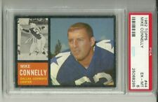 1962 Topps #44 MIKE CONNELLY PSA 6 Dallas Cowboys