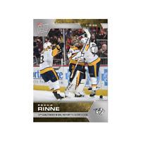 NHL TOPPS NOW Pekka Rinne WEEK 15 NASHVILLE PREDATORS