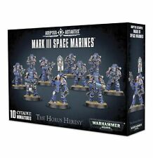 Horus Heresy Burning of Prospero MARK III MK3 Space Marine Legion Squad carton