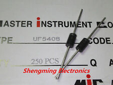 100PCS UF5408 3A 1000V DO-27 Ultrafast recovery diode