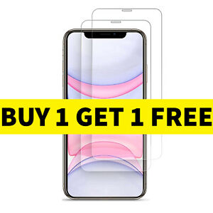 Tempered Glass Screen Protector For iPhone 12 11 Pro Max Mini XR X XS MAX SE2