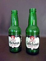 Two Schoenling Little Kings Cream Ale Green Glass Bottles (Empty) (Cat.#8T001)