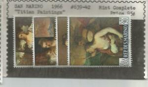Titian Painting Stamps