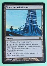 MTG MAGIC Carte NEXUS DES SCINTIMITES Sombracier Darksteel 163/165 Terrain Land