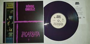 """10"""" LP Vinyl Böhse Onkelz - Zagarbata Oi Punk Skinhead"""