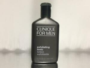 New Clinique for Men Exfoliating Tonic 6.7oz 200 ml Scruffing Lotion
