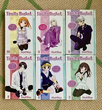 Fruits Basket Manga by Natsuki Takaya - Volumes 5 thru 10 Tokyopop - in English