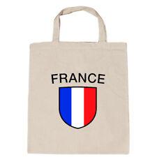 Baumwolltasche Tasche Stofftasche Shopper Frankreich France 73351 natur