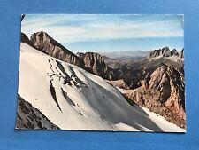 Vintage Post Cards Postcard Ghiacciaio Della Marmolada Glacier Italy Ice 1979
