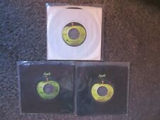"""BADFINGER LOT OF 3 APPLE 45s EX-VG+ """"COME & GET IT""""+""""NO MATTER WHAT""""+""""BABY BLUE"""""""