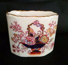 Vintage Mason's Ironstone Brocade Pattern England Small Vase, Collectors item