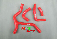 for HONDA CRF450 CRF450R CRF 450 R 2013 2014 silicone radiator coolant hose RED