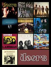 "THE DOORS album discography magnet (4"" x 3"") hendrix joplin jefferson airplane"